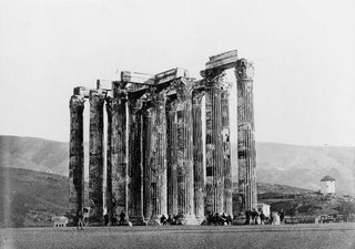 public domain image of zeus ruins