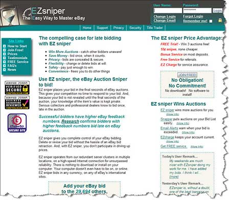 ebay sniper software