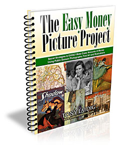 Easy Money Project using Public Domain Images